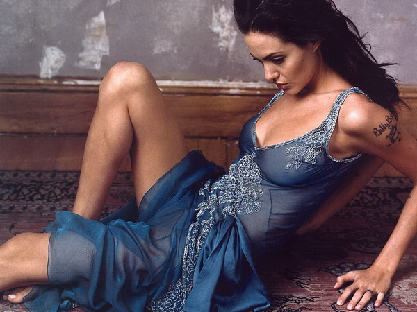 Angelina Jolie Left Arm Tattoo Removal