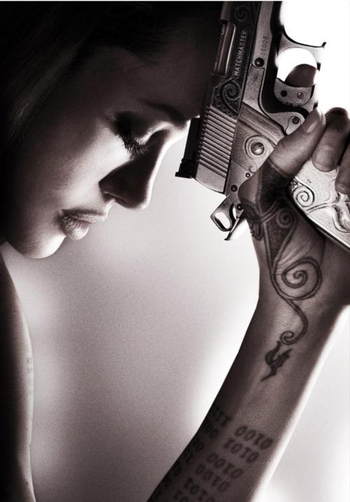 angelina jolie tattoo wanted movie 3