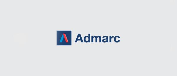 letter a logo admarc
