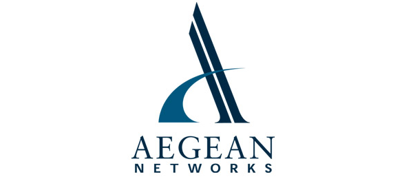 letter a logo aegean networks