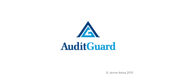 letter a logo audit guard