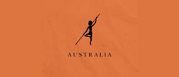 letter a logo australia