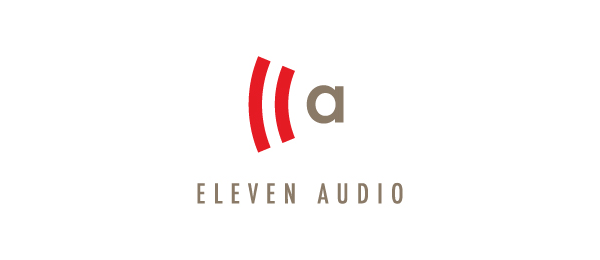 letter a logo eleven audio