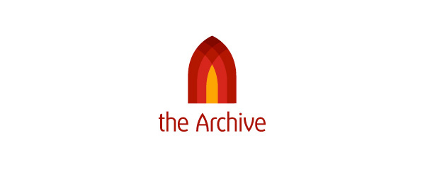 letter a logo the archive