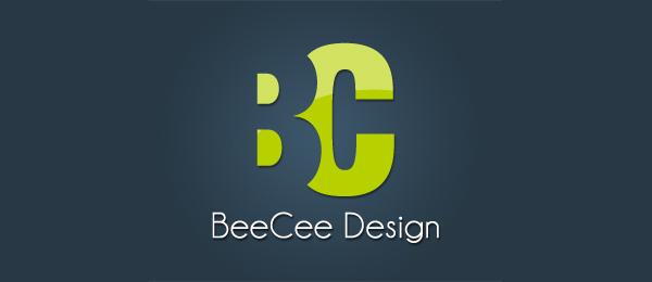 letter b logo beecee design