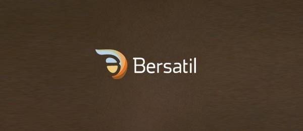 letter b logo bersatil