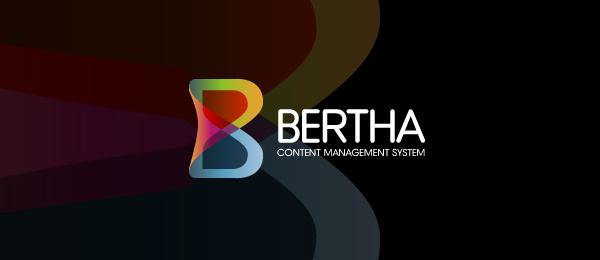 letter b logo bertha