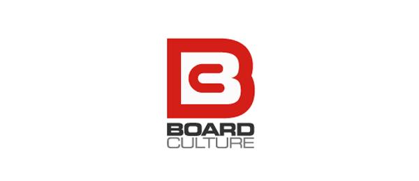 letter b logo board culture