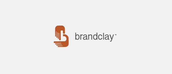 letter b logo brandclay