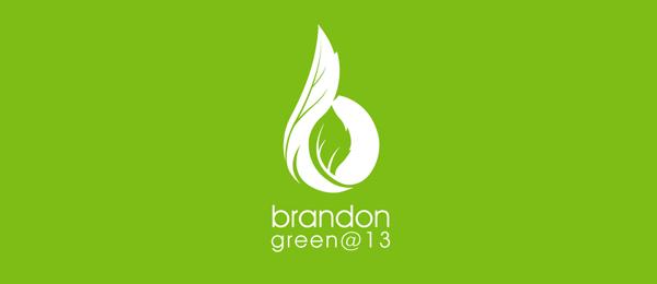 letter b logo brandon green