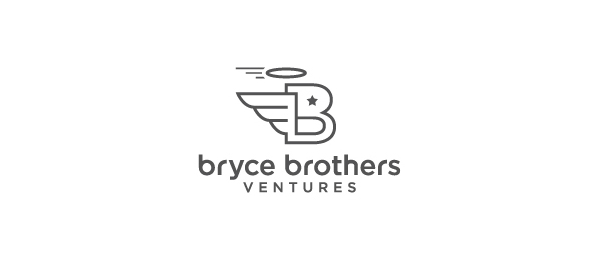 letter b logo bryce brothers