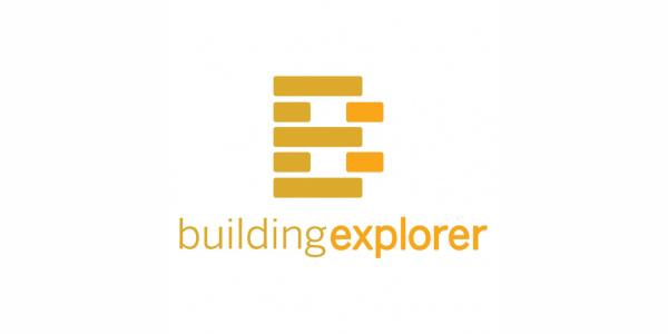 letter b logo building explorer