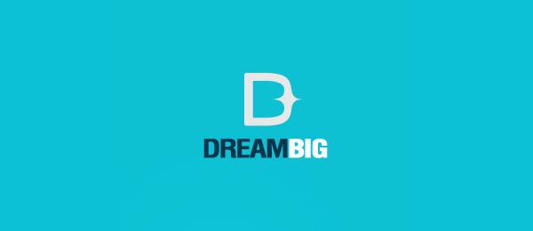 letter b logo dreambig