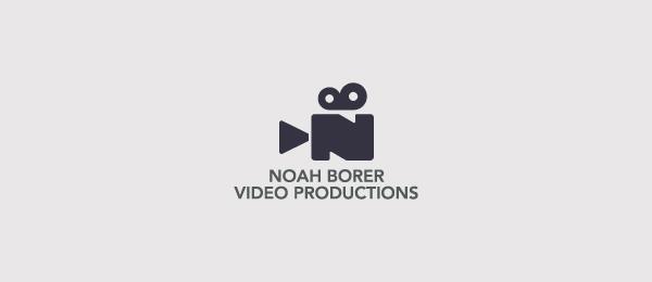 Noah Borer Video ProductionsVideo Production Logo Design