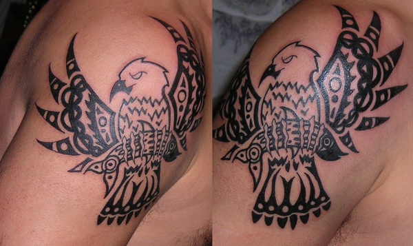 native american eagle tattoo