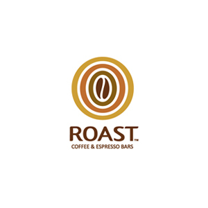Roast coffee bar logo Hative