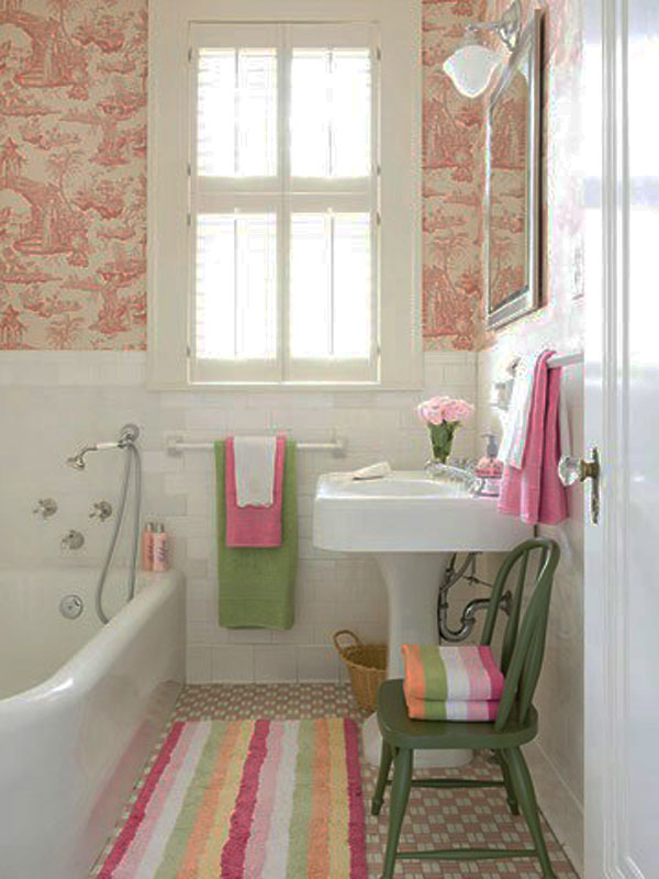 compact bathroom decoration - Small Bathroom Decorating Ideas