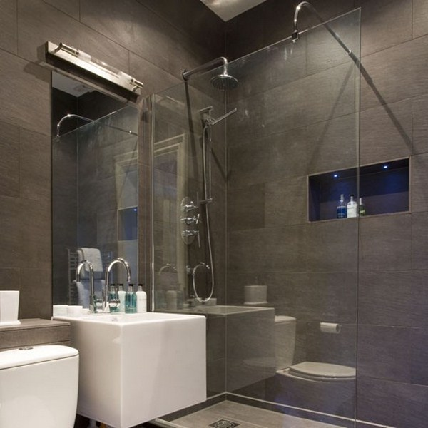 100 small bathroom designs ideas hative for Small bathroom designs uk
