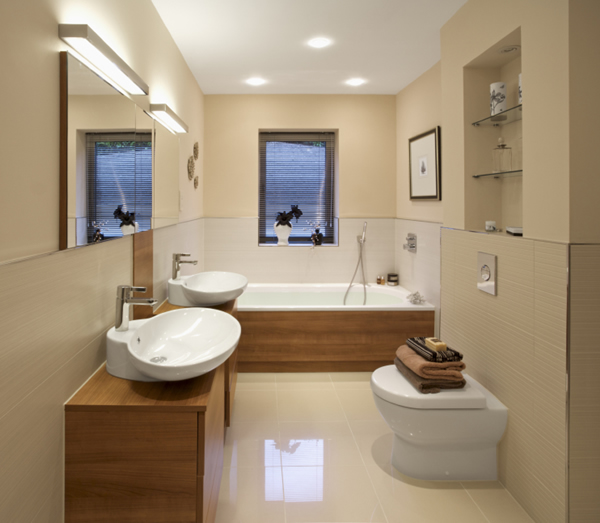 100 small bathroom designs ideas hative for Small bathroom designs no toilet