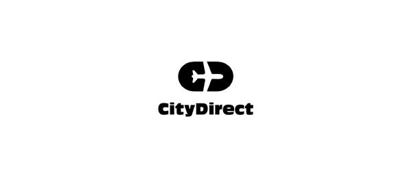 letter d logo design citydirect