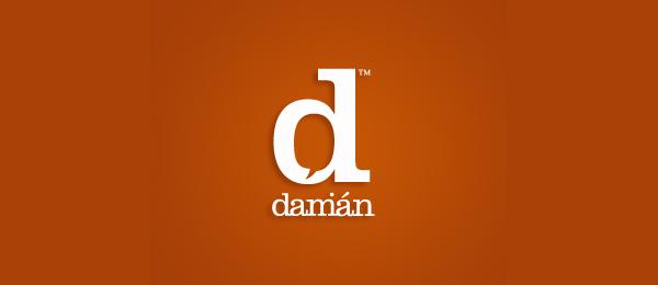 letter d logo design damian