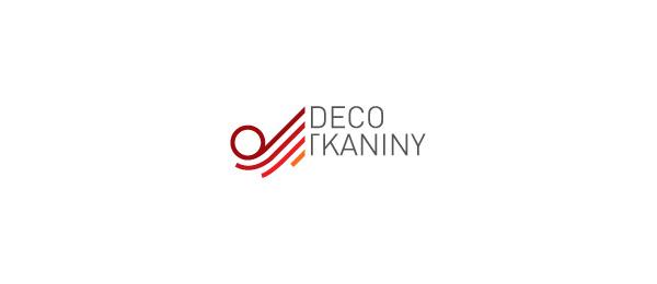 letter d logo design deco tkaniny