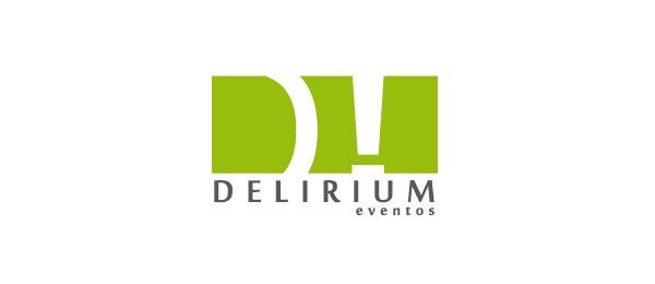 letter d logo design delirium events