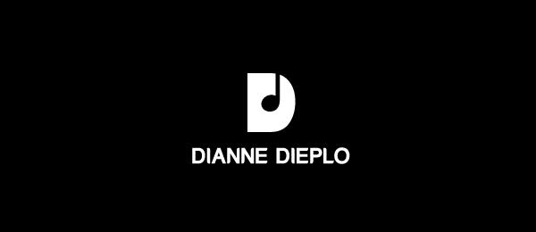 letter d logo design dianne dieplo