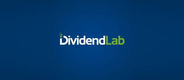 letter d logo design dividend lab