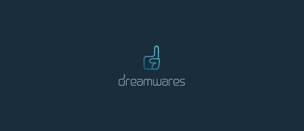 letter d logo design dreamwares