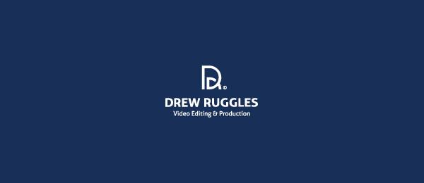 letter d logo design drew ruggles