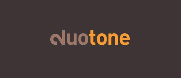letter d logo design duotone