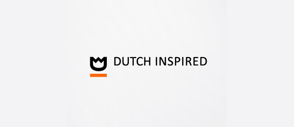 letter d logo design dutch inspired