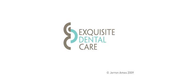 letter d logo design exquisite dental