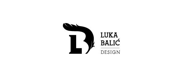 letter d logo design luka balic design