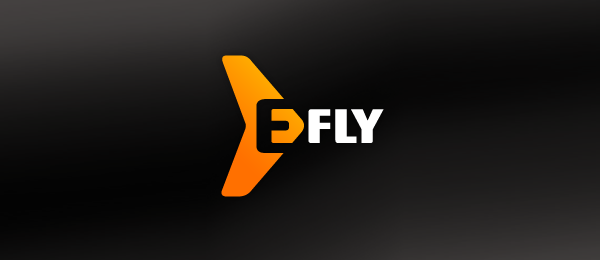 letter e logo design e fly http://hative.com/50-cool-letter-e-logo-design-inspiration/