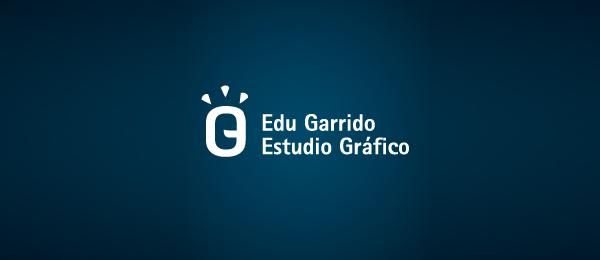 letter e logo design edu garrido