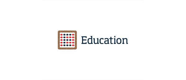 letter e logo design education