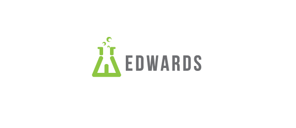 letter e logo design edwards