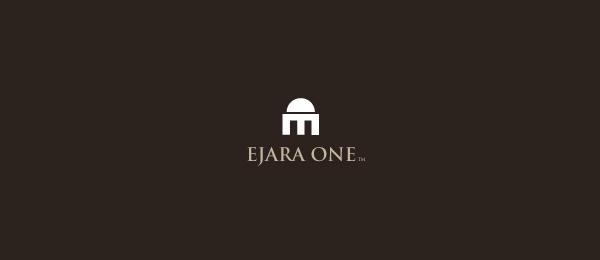 letter e logo design ejara one