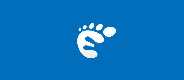 letter e logo design eliane palazzin