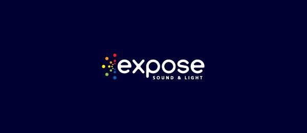 letter e logo design expose