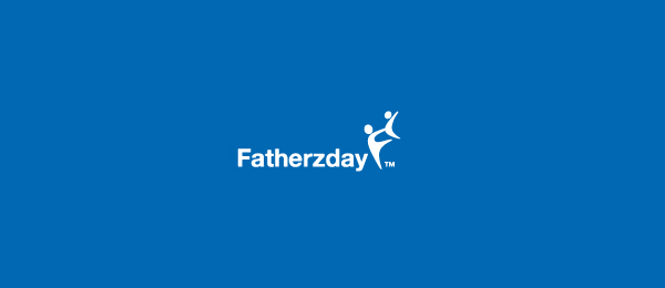 letter f logo design fatherzday