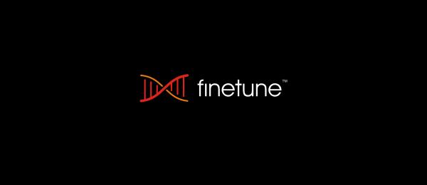 letter f logo design finetune