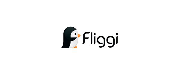 letter f logo design fliggi