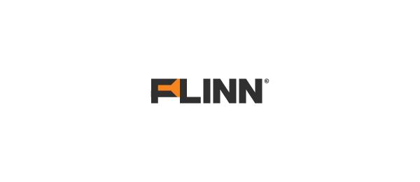 letter f logo design flinn