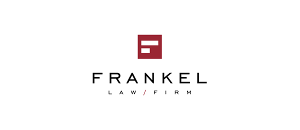 letter f logo design frankel law firm