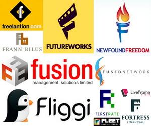 50  Cool Letter F Logo Design  F Logo Design