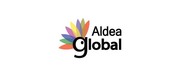 letter g logo design aldea global