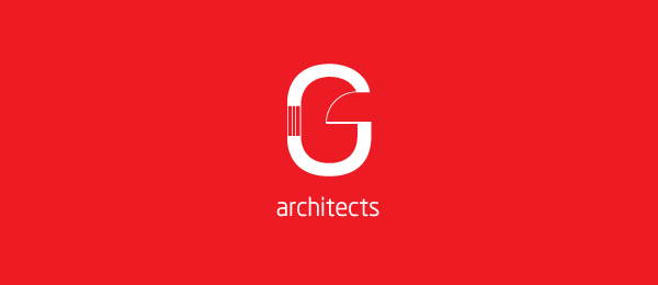 letter g logo design g architects